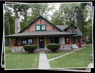 Log Home Repair Michigan Log Home Restoration In