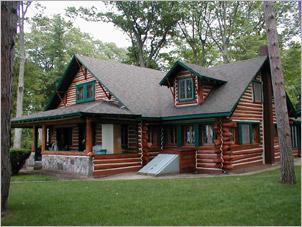 Log Home Repair Michigan | Log Home Restoration in Michigan
