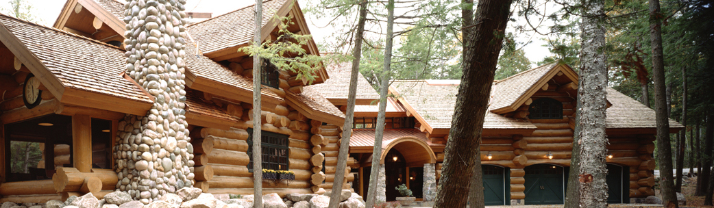 Log home repair restoration in new hampshire log home for Log home cost estimator