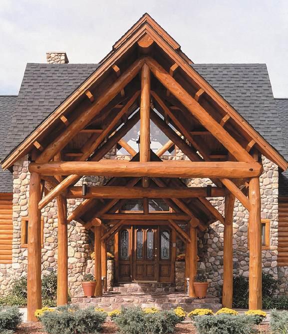 Log Home Repair Restoration In Vermont Log Home
