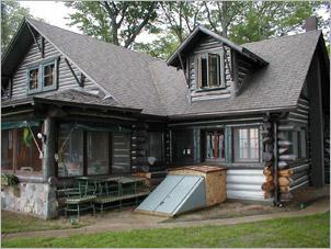 Blasting Caulking Staining Gallery Log Home Restoration Repair Services
