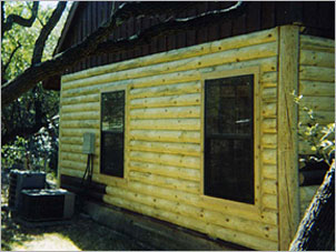 Log Home Repair Texas - After