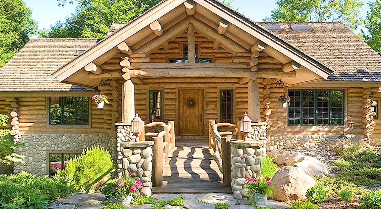 Home log home restoration log home repair services for Chinking log cabin